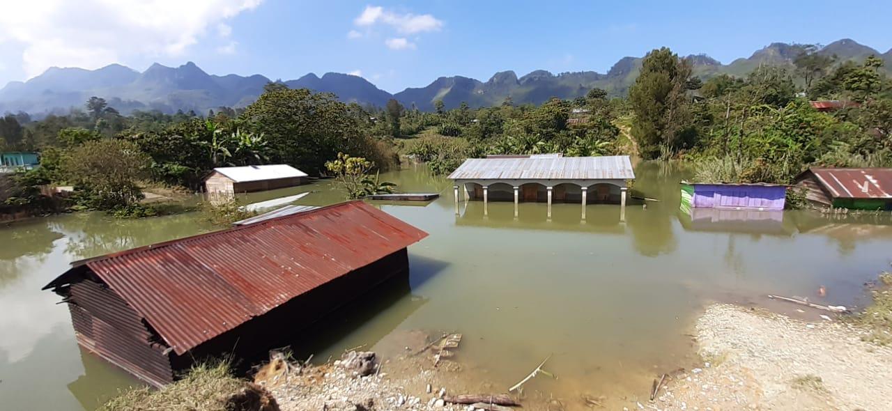 Yalijux, Guatemala after Hurricanes Eta and Iota